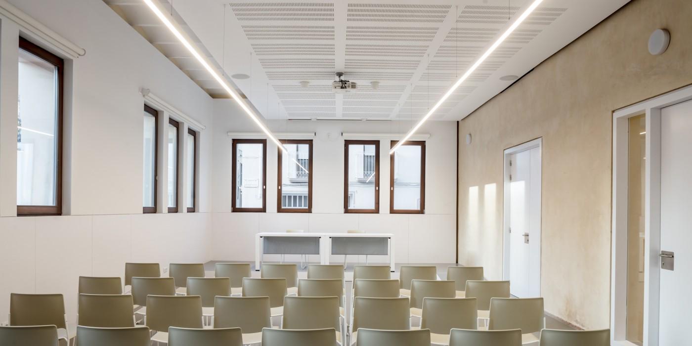 sala polivalent biblioteca