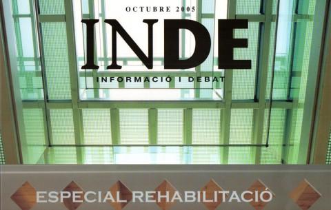 Revista 'INDE Informació i debat – especial rehabilitació - octubre 2005'