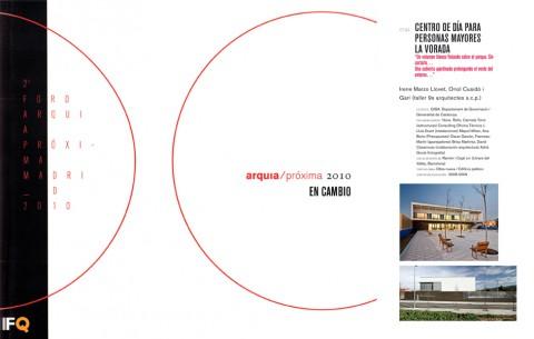 Catàleg '2o foro arquia próxima madrid 2010 – arquia/próxima 2010: EN CAMBIO'