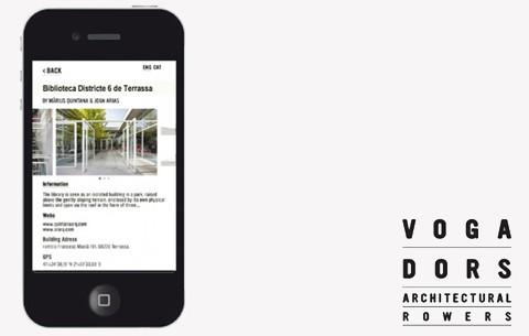 Guia digital d'arquitectura catalana i balear 'Vogadors – web app contextos'