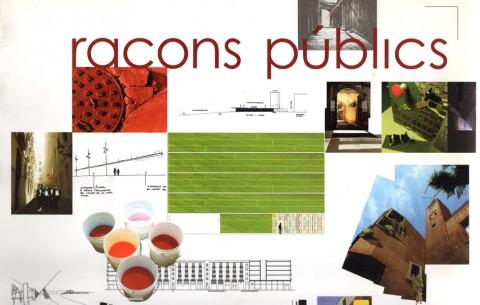 Llibre 'Racons públics, concurs de participació ciutadana en el disseny de la ciutat'