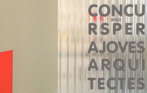 concurs joves arquitectes de catalunya (2003)